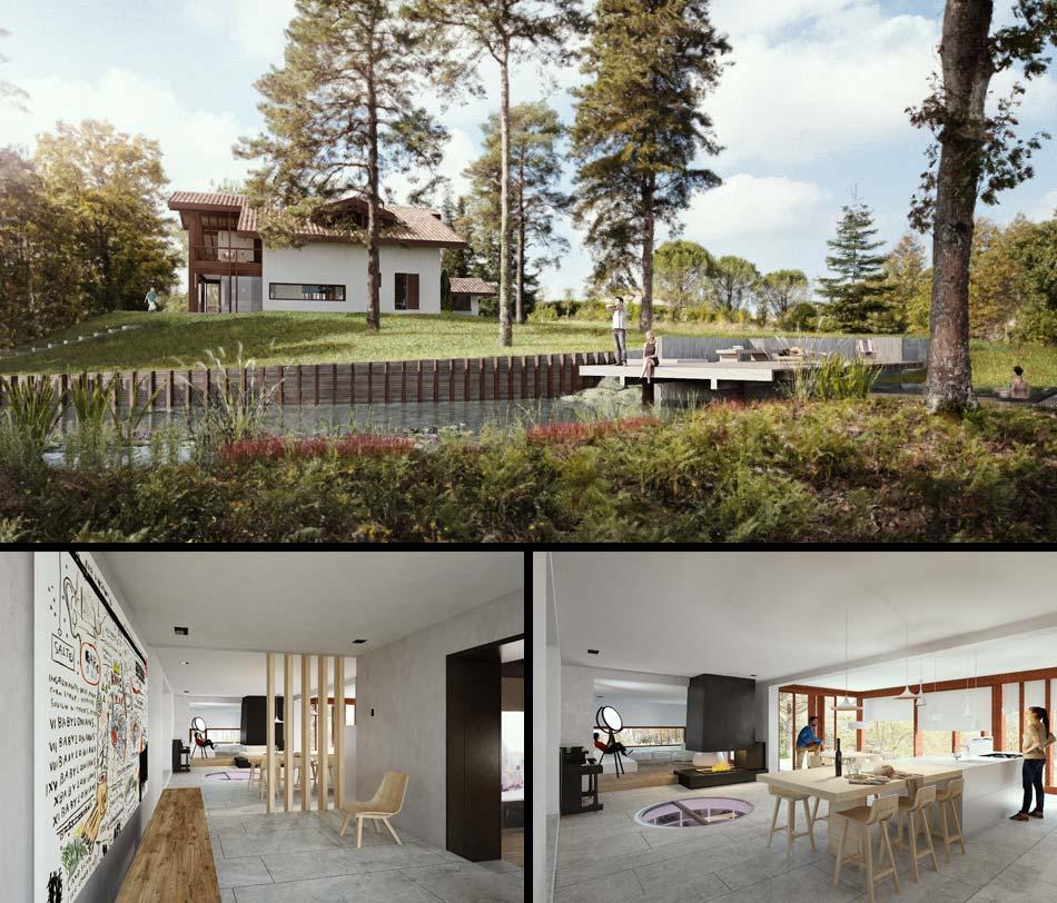 mathieu choiselat mc design biarritz architecture visualisation illustrateur 3d et. Black Bedroom Furniture Sets. Home Design Ideas